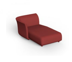Suave by Marcel Wanders sofà modulo chaiselongue destro art. 67016 Vondom